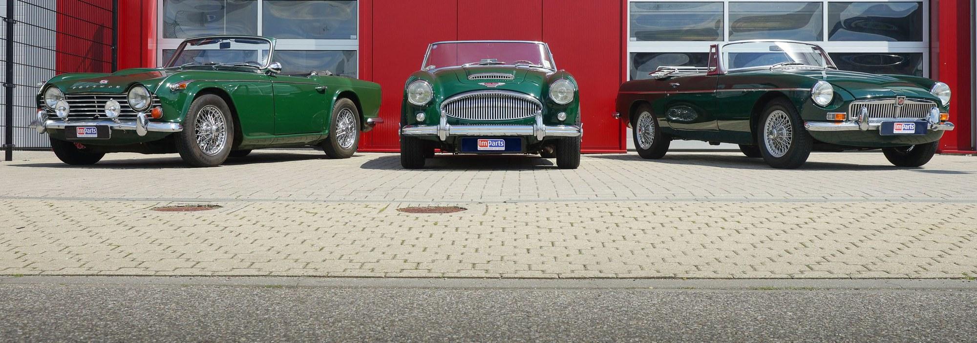 Pièces Triumph et MG